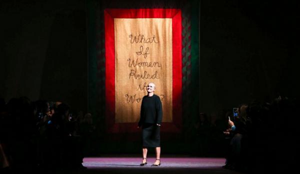 A Dior criou Uma coleção com mensagem feminista
