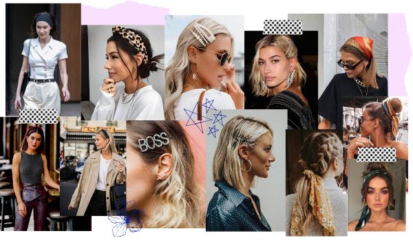 OS acessórios de cabelo SÃO UMA PEÇA CHAVE: